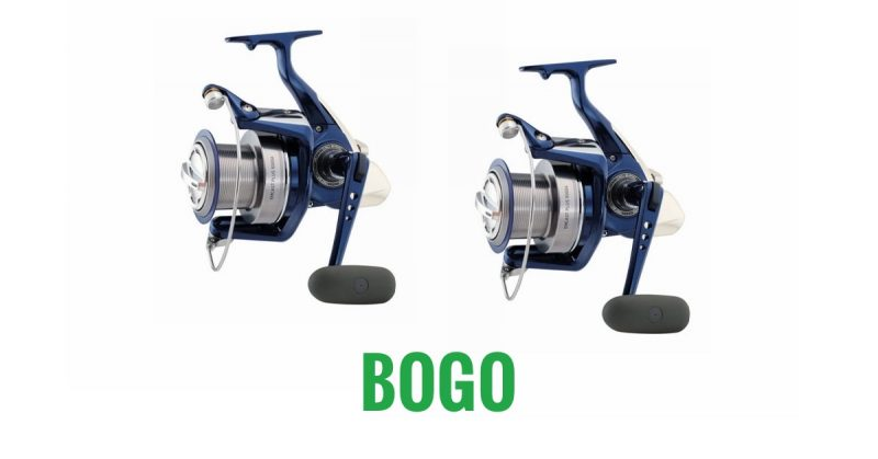Buy One Get One Daiwa Emcast PLUS 5500 Reels - The Tackle Guys