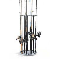 Organized Fishing Spinning Rod Rack