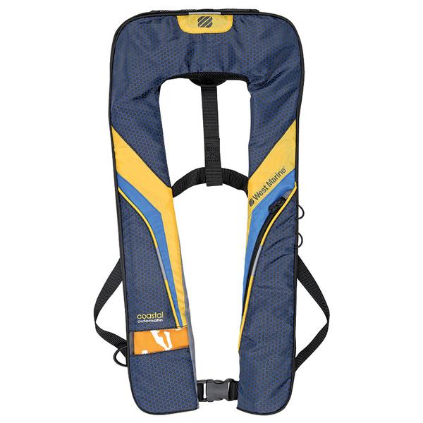 Coastal Automatic Inflatable Life Jacket (Yellow)